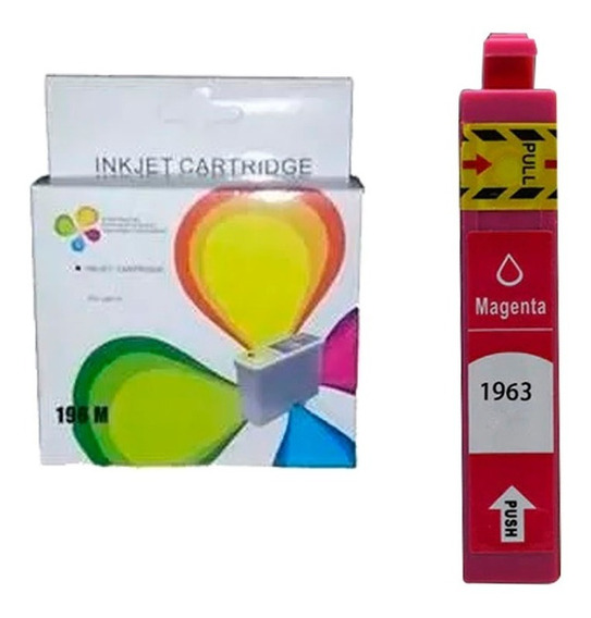 Cartucho Compatible Epson 196 Color Xp-401 Xp-211 101 Bagc