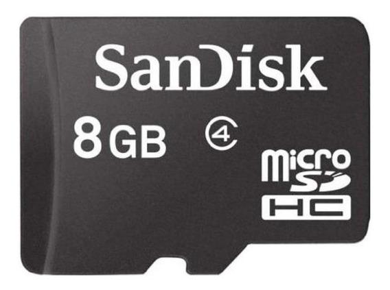 Cartão De Memória - Micro Sd - Sandisk 8g - Novo Original