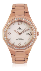 Relógio Feminino Ana Hickmann Ah20033z Rose