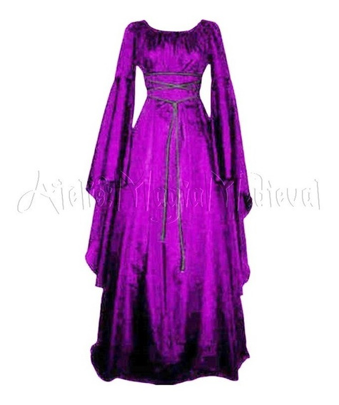 Vestido Medieval Sacerdotisa