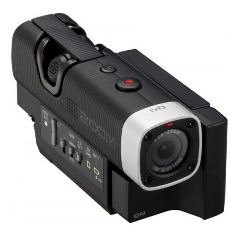 Gravador Digital De Áudio E Vídeo Zoom - Q4 Hd