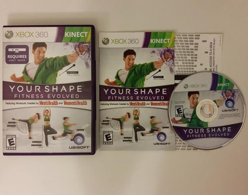 Your Shape Fitness Evolved Xbox 360 Original Completo