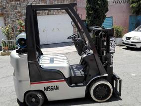 Montacargas Marca Nissan Modelo 2009 A Solo 140 Mil Pesos