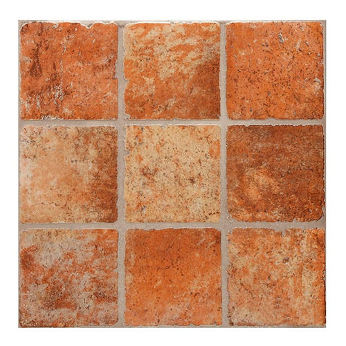 Imagen 1 de 6 de Piso Ceramico 1cal 45,3x45,3 Rustico Ebano Sat San Lorenzo