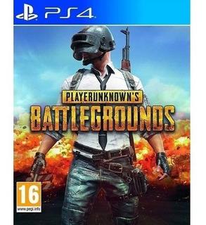 Playerunknowns Battlegrounds Fisico Sellado Ps4