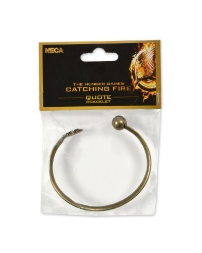 Neca The Hunger Games: Catching Fire Quote Bracelet