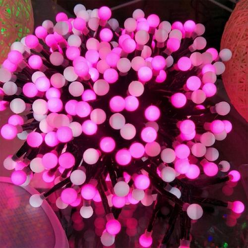 Guirnalda De Luces 400 Leds Cumpleaños Decoracion Jardin