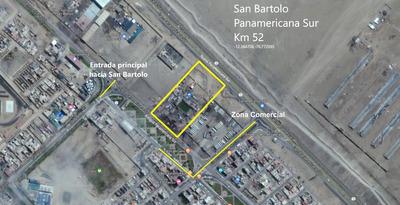 Terreno En San Bartolo Km 52 Panamericana Sur 2000 M2
