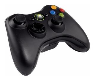 Control Inalámbrico De Xbox 360 Negro Obsequio Pilas Duracel