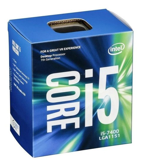 Processador Box Intel Core I5-7400 Bx80677i57400 4 Núcleos