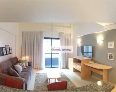 Imagem 1 de 20 de Apartamento Duplex Com 1 Dormitório À Venda, 55 M² Por R$ 799.000,00 - Moema - São Paulo/sp - Ad0011