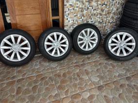Rodas Do Audi A3 Com Pneus Tudo Pouco Rodado