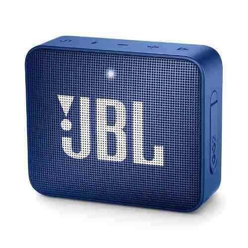Caixa De Som Bluetooth Jbl Go 2 Portátil Original - Azul 3w
