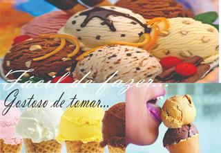 Receita Sorvete+picolébaseágua+baseleite+paletasmexicanas!