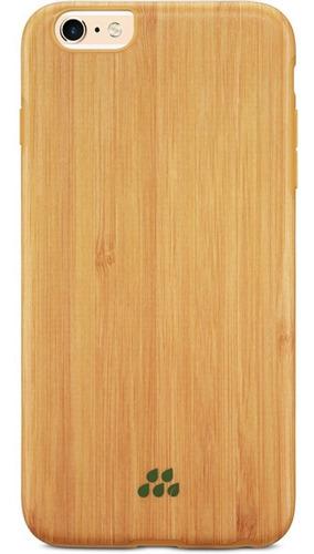 Capa Wood Si Para Iph 6 Plus/i 6s Plus Evutec