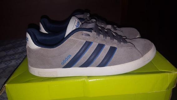 Tênis adidas Derby Vulc - Cinza (semi-novo)