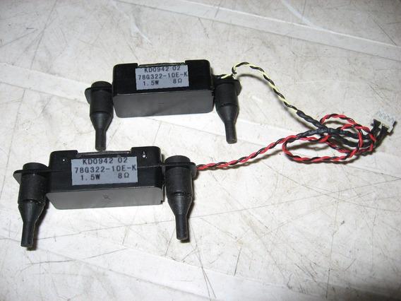 Alto Falantes Monitor Philips 185vw9 (par)