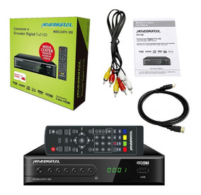 Conversor Tv Digital Filtro 4g Gravador Novadigital Dtv-300