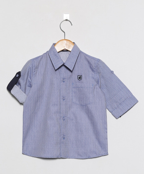 Camisa Masculina Infantil De Tecido