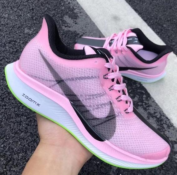 Zapatillas Nike Zoom Pegasus Turbo Rosa Para Mujer