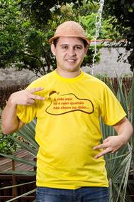 Camisa Personalizada Chove No Chão - Masculina
