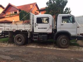 Caminhão Vw 16 170 Bt Carroceria E Cabine Auxiliar - Troca