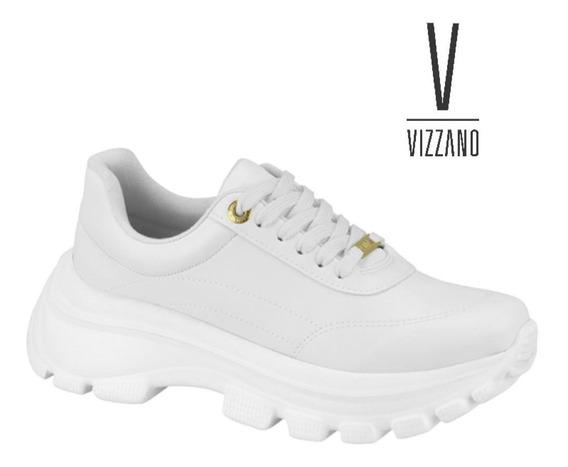 Tênis Feminino Vizzano Dad Sneaker Branco Pelica 1356.100