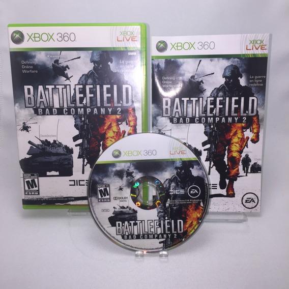 Battlefield Bad Company 2 Xbox 360 Original Mídia Física