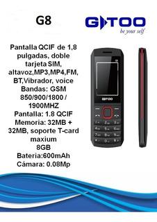 Teléfono Gtoo G8 Celular Analógico