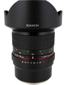 Rokinon 14mm F/2.8 Ed As Se Umc P/ Sony - Loja Platinum