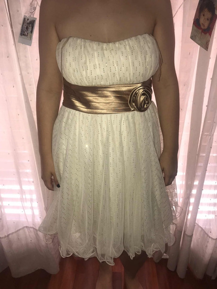 Vestido De Fiesta , Ideal Para Quinceañeras Talle 16