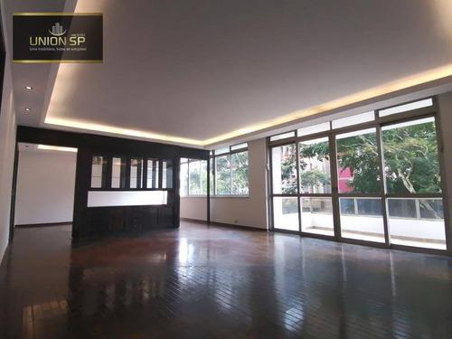 Apartamento Com 3 Dormitórios À Venda, 260 M² Por R$ 4.950.000,00 - Jardim Paulistano - São Paulo/sp - Ap47616