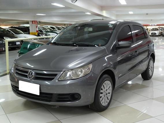 Volkswagen Gol 1.0 Trend Cinza 8v Flex 4p
