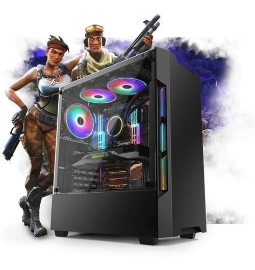 Pc Gamer Moba Intel I5 8gb 1tb Gtx1050ti 4gb 500w Promoção