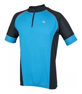 Camisa Ciclista M.curta C/ Ziper - Realtex