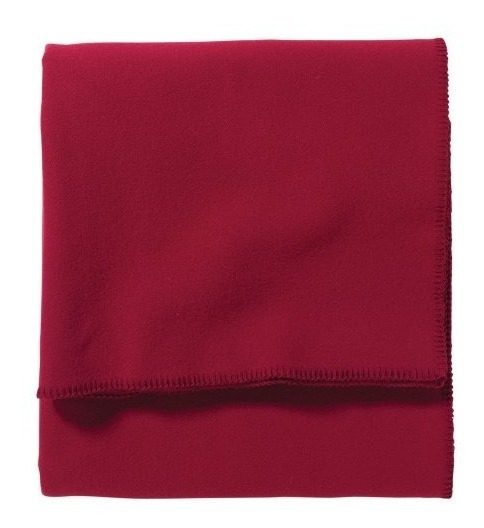 Manta Roja Lavable Eco-wise De Lana Pendleton Queen