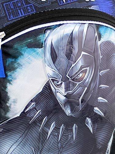 Mochila Escolar Marvel Black Panther Boy De 16 PLG (talla Ún