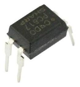100x Optoacoplador * Pc817 * Pc 817 - Original Sharp