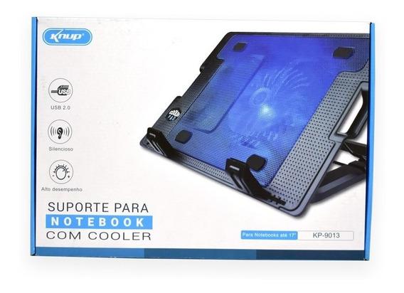 Suporte Cooler Notebook Base Ergonômico Silencioso Knup