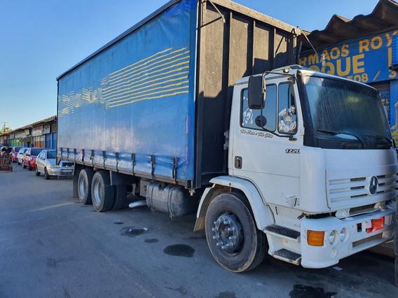 Mb 1720 Ano 1999 Truck 6x2 Com Sider