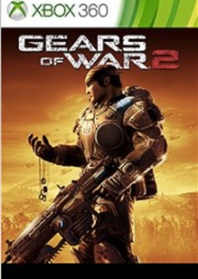 Gears Of War 2 P/ Xbox 360 Código 25 Dígitos Original