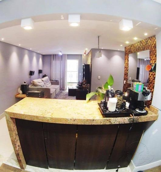 Apartamento Com 3 Dormitórios À Venda, 87 M² Por R$ 460.000,00 - Jardim Tupanci - Barueri/sp - Ap0106