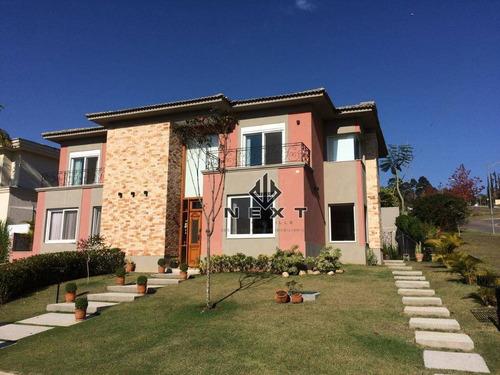 Casa Com 4 Suítes À Venda, 514 M² No Residencial Tamboré 11 Em Alphaville - Santana De Parnaíba/sp - Ca0674