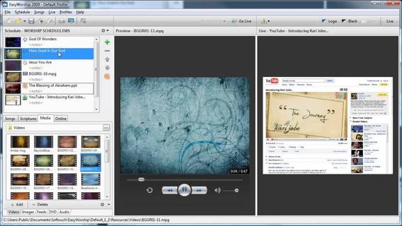 Easyworship 2009 Versões 1.4 1.9 E 2.4 Completo Biblia