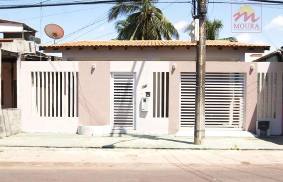 Casa Residencial À Venda, Santa Inês, Macapá. - Ca0318