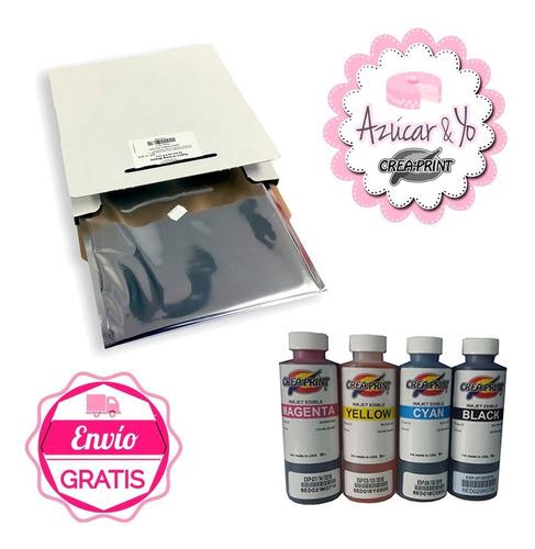 Kit Inicial Impresion De Fototorta Tinta Y Papel De Azucar