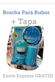 Brocha Para Rubor + Tapa Envío Gratuito