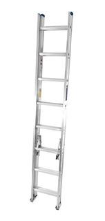 Escalera Extension Aluminio 20 Pasos / 5.23m 11.4kg Tc3511