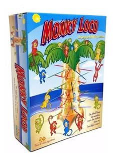 Juego De Mesa Monky Loco Habilidad Y Acción Ditoys Tv