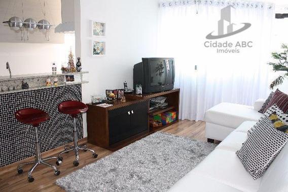 Apartamento Com Planejados - Bairro Jardim - Santo André - Ap0918. - Ap0918